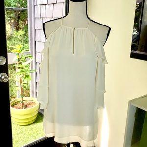 Parker Cindy ruffle blouse